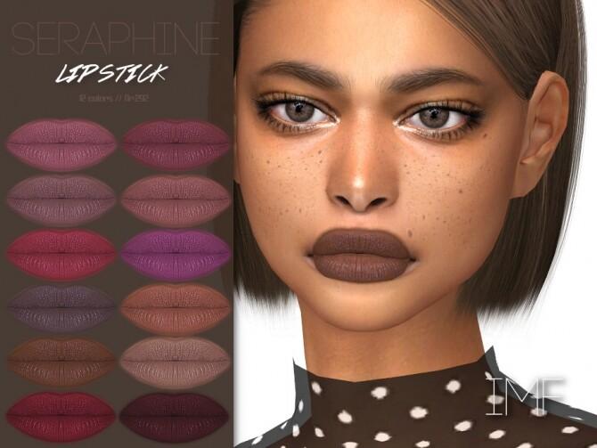 Sims 4 IMF Seraphine Lipstick N.292 by IzzieMcFire at TSR