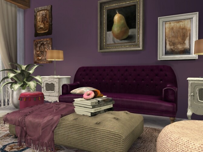 Boho Chic Living by fredbrenny at TSR image 4821 670x503 Sims 4 Updates