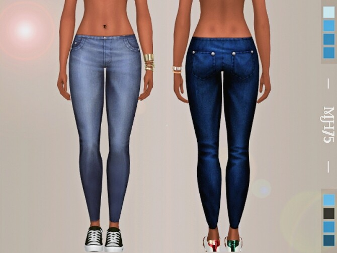 Sims 4 Molly Jeans by Margeh 75 at TSR