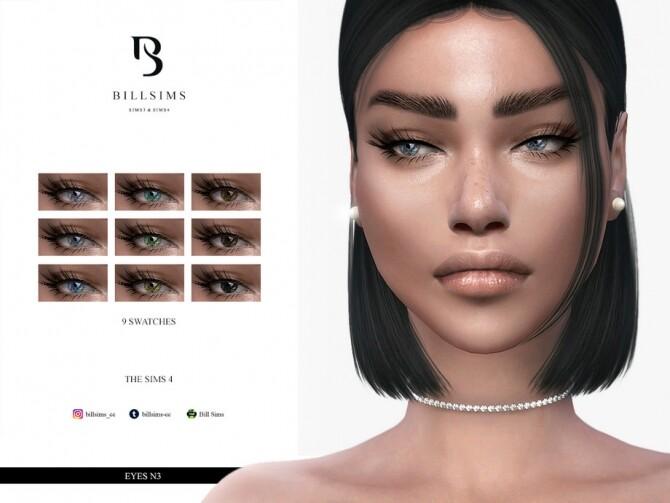 Sims 4 Eyes N3 by Bill Sims at TSR