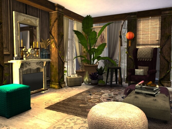 Boho Chic Living by fredbrenny at TSR image 4921 670x503 Sims 4 Updates