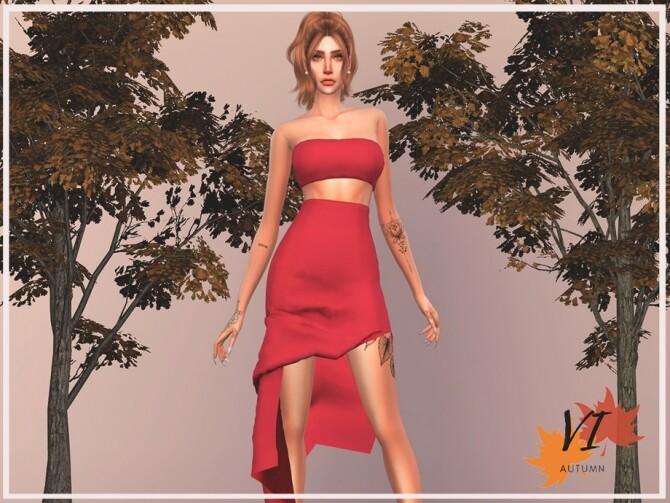 DRESS I TD VI by Viy Sims at TSR » Sims 4 Updates