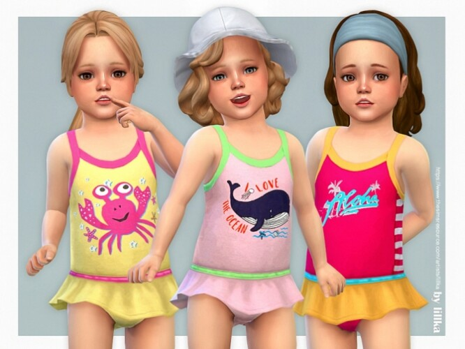Toddler Swimsuit P11 by lillka