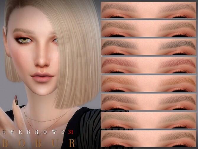 Eyebrows 31 by Bobur3 at TSR image 5112 670x503 Sims 4 Updates