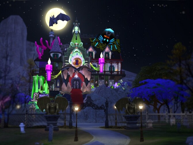 Sims 4 Monster House by VirtualFairytales at TSR