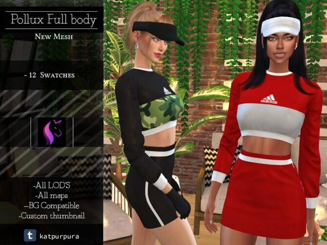Sims 4 Pollux Full body by KaTPurpura at TSR