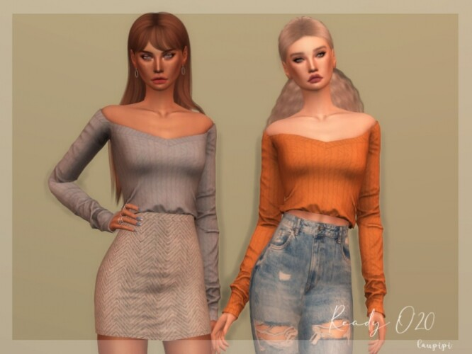 Cotton Sweater TP353 by laupipi