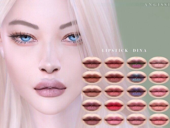 Lipstick Dina by ANGISSI at TSR image 525 670x503 Sims 4 Updates