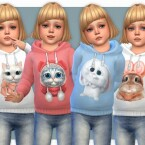 Hoodie for Toddler Girls P09 by lillka