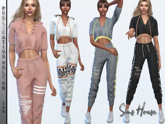 Suit sport chic top by Sims House at TSR image 5316 670x503 Sims 4 Updates