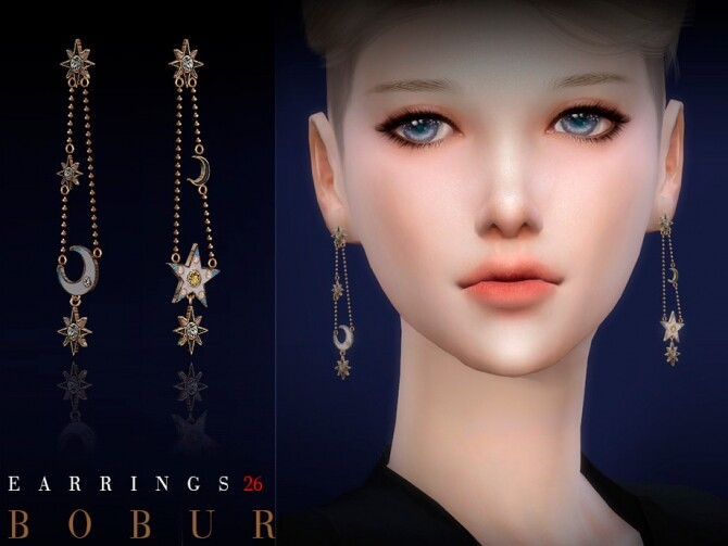 Earrings 26 by Bobur3 at TSR image 5515 670x503 Sims 4 Updates
