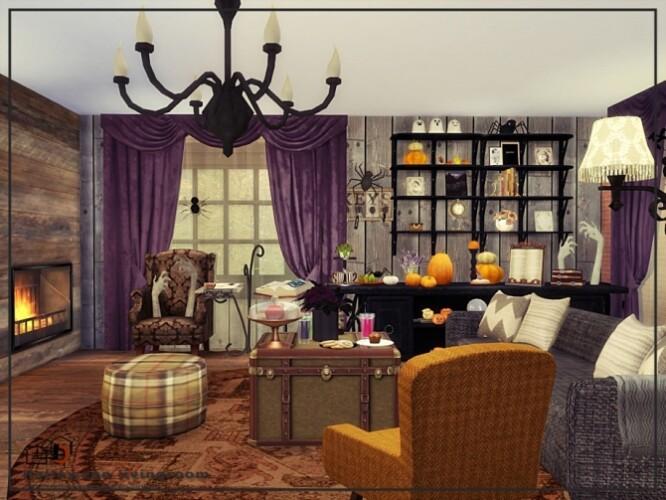 Halloween livingroom by Danuta720