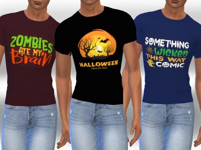 Sims 4 Halloween Tops M by Saliwa at TSR