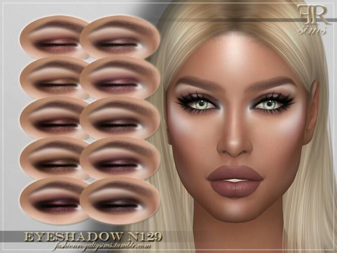 Sims 4 FRS Eyeshadow N129 by FashionRoyaltySims at TSR