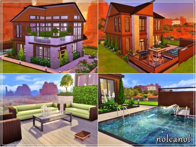 Nerissa home by nolcanol at TSR image 560 670x503 Sims 4 Updates