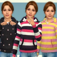 Hoodie for Girls P11 by lillka