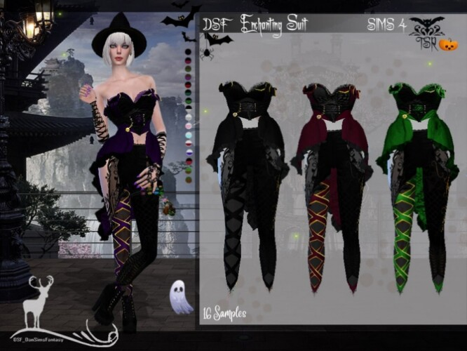 DSF Enchanting Suit by DanSimsFantasy