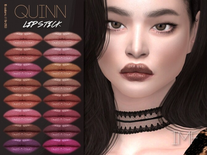 IMF Quinn Lipstick N.293 by IzzieMcFire at TSR image 5717 670x503 Sims 4 Updates