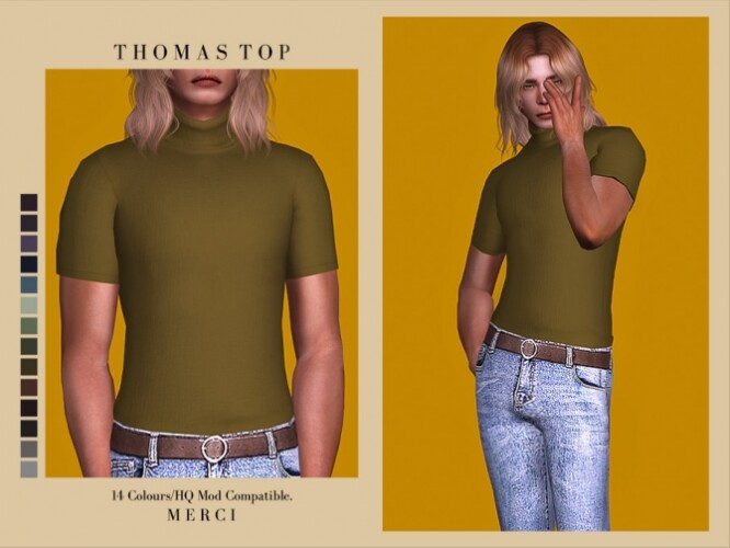 Thomas Top by Merci
