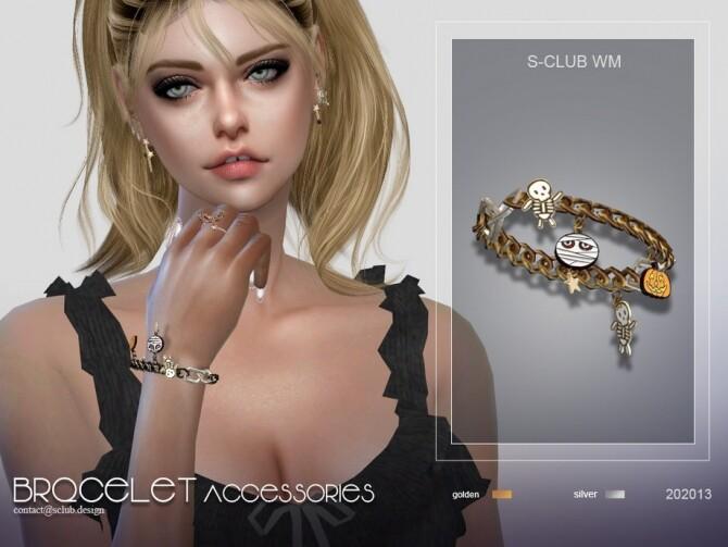 Sims 4 Bracelet 202013 by S Club WM at TSR