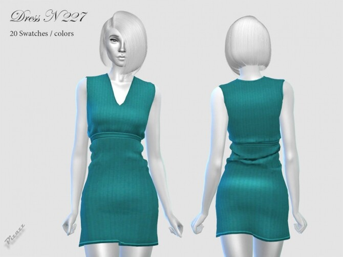 Sims 4 DRESS N 227 by pizazz at TSR