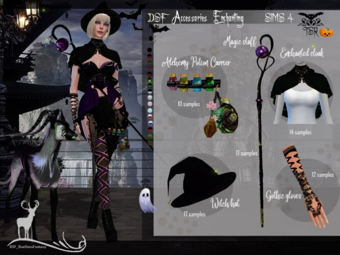DSF Accessories Enchanting by DanSimsFantasy