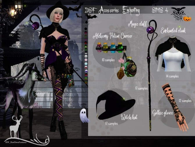 Sims 4 DSF Accessories Enchanting by DanSimsFantasy at TSR