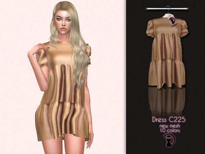 Dress C225 by turksimmer at TSR image 5912 670x503 Sims 4 Updates
