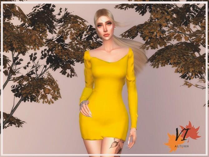 Viy Sims Dress II - Autumn VI