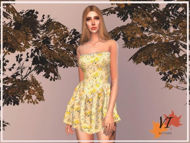 Dress VI by Viy Sims at TSR » Sims 4 Updates