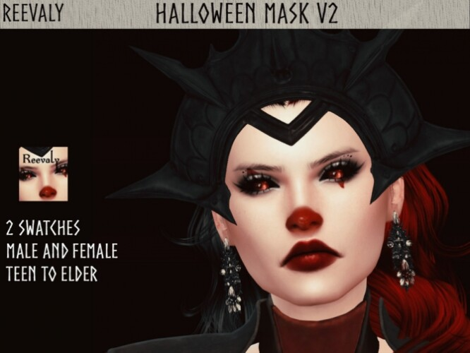 Halloween Mask V2 by Reevaly