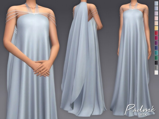 Padme dress by Sifix at TSR image 6112 670x503 Sims 4 Updates