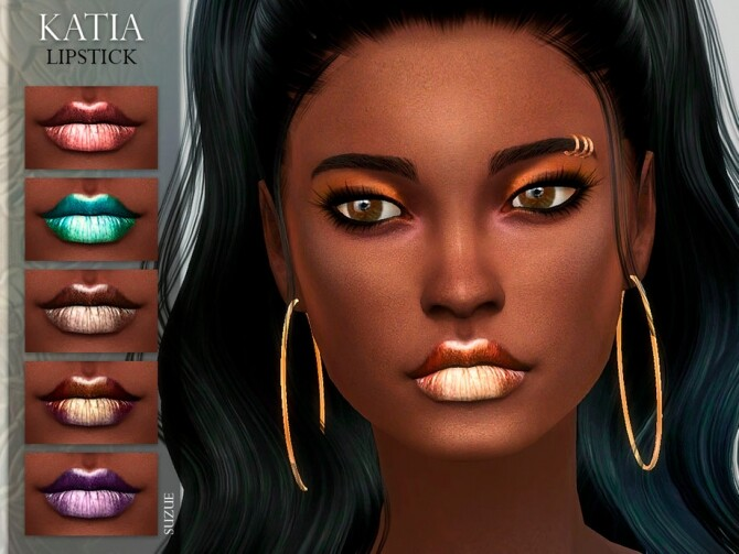 Katia Lipstick N15 by Suzue at TSR image 6119 670x503 Sims 4 Updates