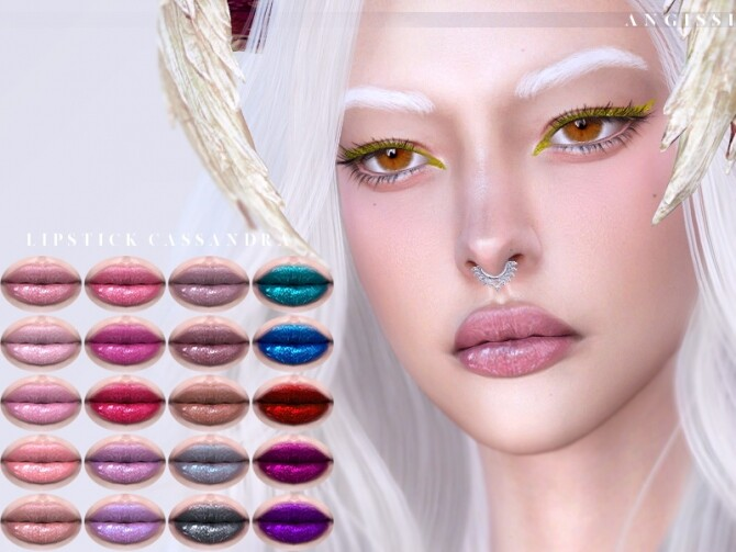 Cassandra lipstick by ANGISSI at TSR image 6214 670x503 Sims 4 Updates