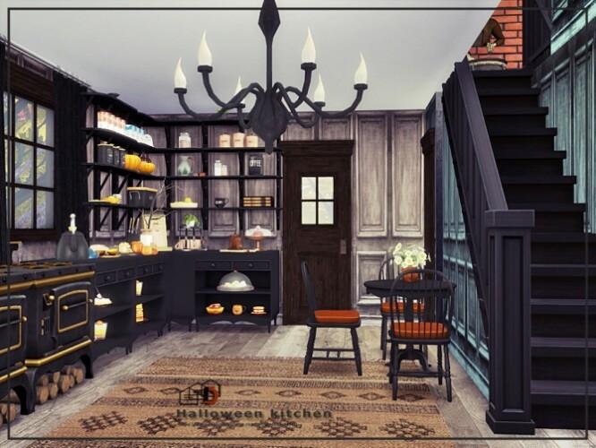 Halloween kitchen by Danuta720