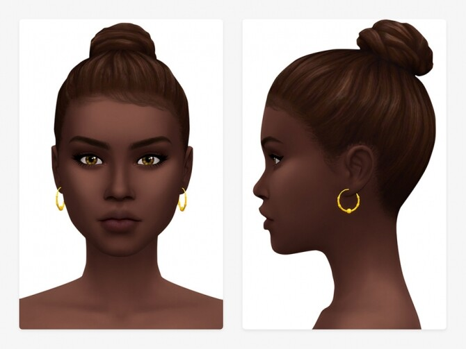 Sims 4 Orbis Earrings by Nords at TSR