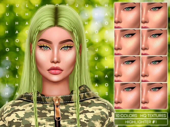 Sims 4 HIGHLIGHTER #1 by Jul Haos at TSR