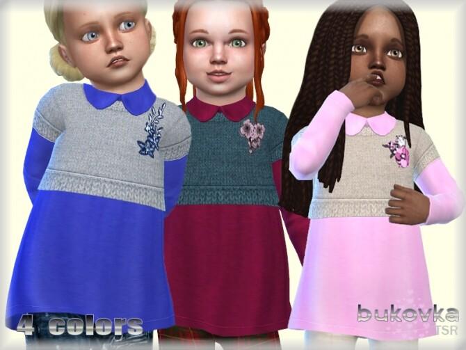 Sims 4 Top Toddler Girl by bukovka at TSR