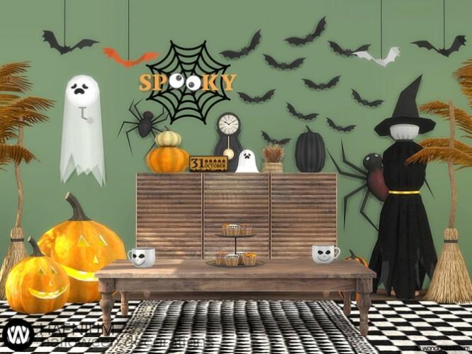 Hafnium Halloween Decorations by wondymoon
