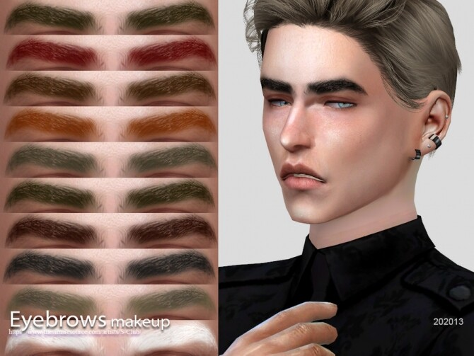 Sims 4 Eyebrows 202013 by S Club WM at TSR