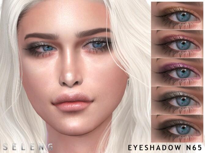 Sims 4 Eyeshadow N65 by Seleng at TSR