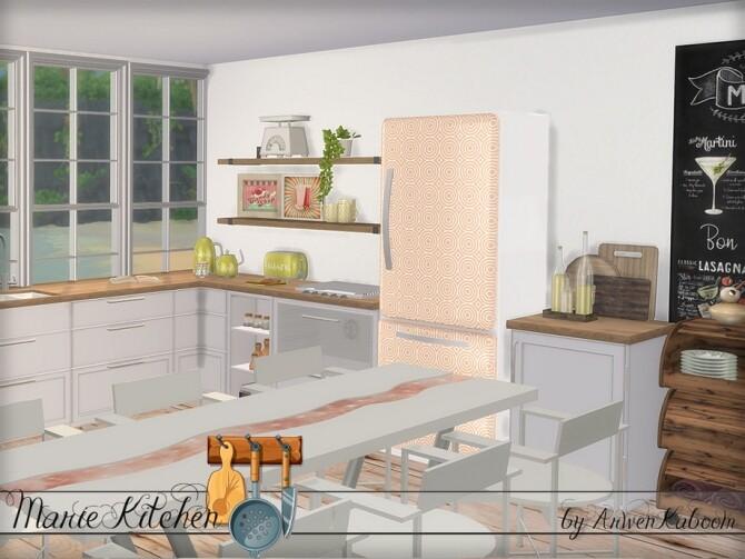 Marie Kitchen by ArwenKaboom at TSR image 6510 670x503 Sims 4 Updates