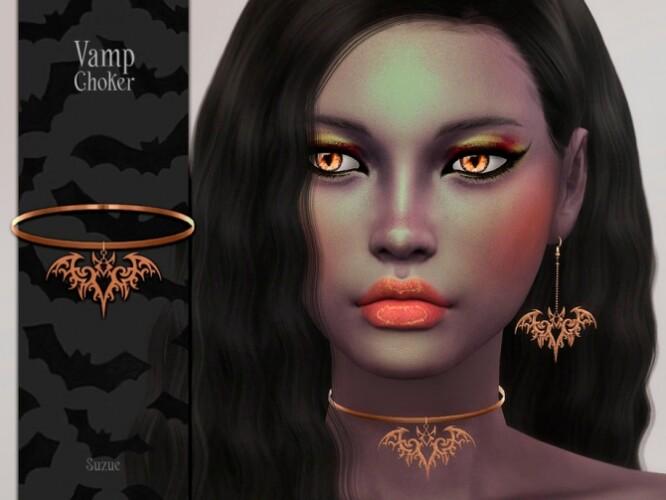 Vamp Choker by Suzue