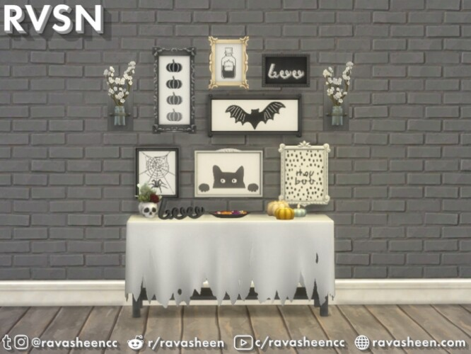 Fab-boo-lous Halloween Wall Art by RAVASHEEN