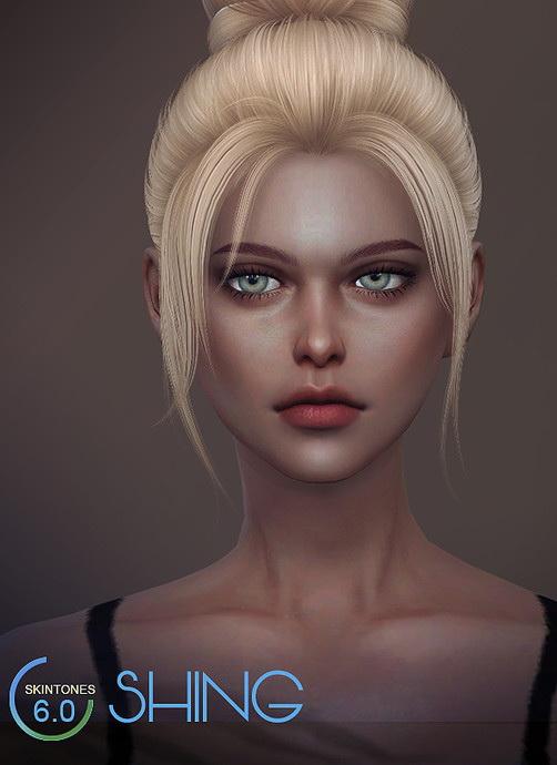 Sims 4 Skintones 6.0 Shing FB by S Club WMLL at TSR