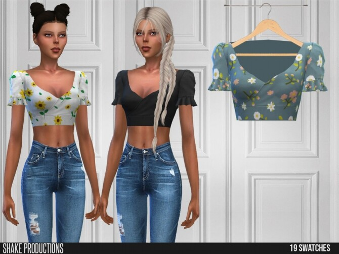 Sims 4 533 Top by ShakeProductions at TSR