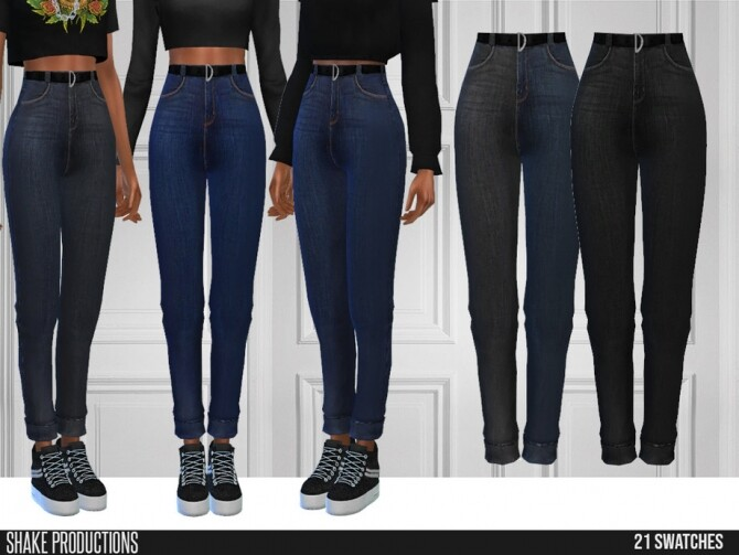 Sims 4 548 Jeans by ShakeProductions at TSR