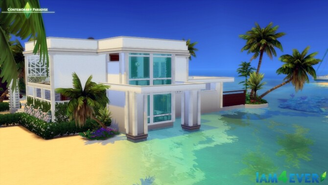 Contemporary Paradise House by Iam4ever at MTS image 67 670x377 Sims 4 Updates