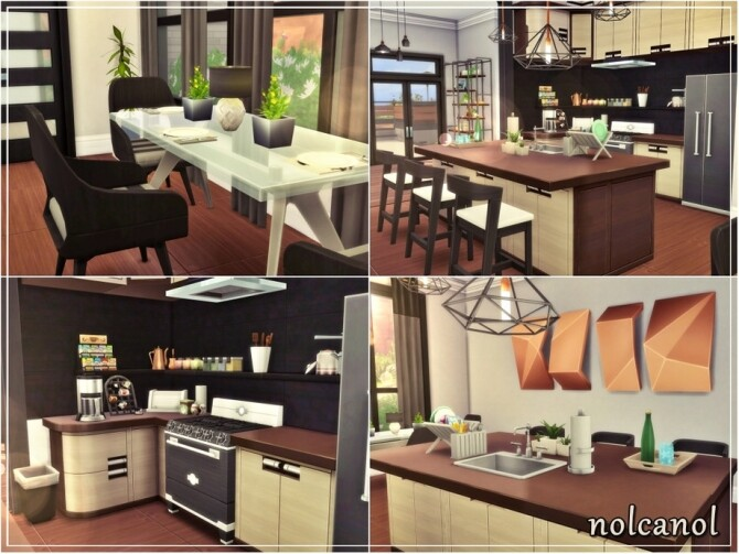 Nerissa home by nolcanol at TSR image 670 670x503 Sims 4 Updates