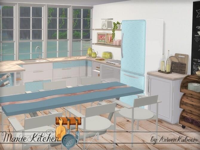 Marie Kitchen by ArwenKaboom at TSR image 6710 670x503 Sims 4 Updates